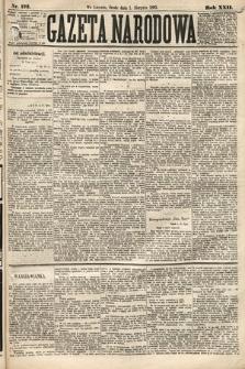 Gazeta Narodowa. 1883, nr173