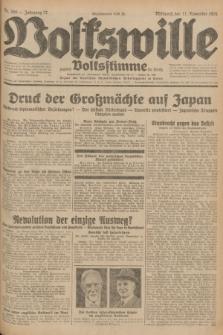 Volkswille : zugleich Volksstimme für Bielitz : Organ der Deutschen Sozialistischen Arbeitspartei in Polen. Jg.17, Nr. 260 (11 November 1931) + dod.