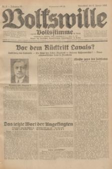 Volkswille : zugleich Volksstimme für Bielitz : Organ der Deutschen Sozialistischen Arbeitspartei in Polen. Jg.18, Nr. 6 (9 Januar 1932) + dod.