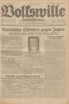 Volkswille : zugleich Volksstimme für Bielitz : Organ der Deutschen Sozialistischen Arbeitspartei in Polen. Jg.18, Nr. 10 (14 Januar 1932) + dod.