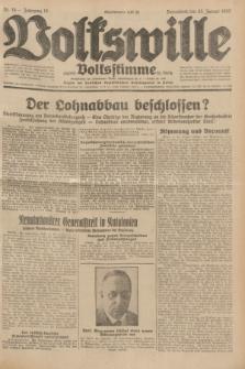 Volkswille : zugleich Volksstimme für Bielitz : Organ der Deutschen Sozialistischen Arbeitspartei in Polen. Jg.18, Nr. 18 (23 Januar 1932) + dod.