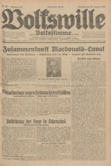 Volkswille : zugleich Volksstimme für Bielitz : Organ der Deutschen Sozialistischen Arbeitspartei in Polen. Jg.18, Nr. 20 (26 Januar 1932) + dod.