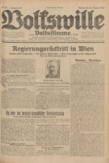 Volkswille : zugleich Volksstimme für Bielitz : Organ der Deutschen Sozialistischen Arbeitspartei in Polen. Jg.18, Nr. 23 (29 Januar 1932) + dod.