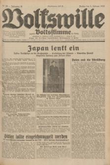 Volkswille : zugleich Volksstimme für Bielitz : Organ der Deutschen Sozialistischen Arbeitspartei in Polen. Jg.18, Nr. 28 (5 Februar 1932) + dod.
