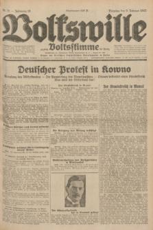 Volkswille : zugleich Volksstimme für Bielitz : Organ der Deutschen Sozialistischen Arbeitspartei in Polen. Jg.18, Nr. 31 (9 Februar 1932) + dod.