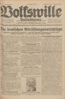 Volkswille : zugleich Volksstimme für Bielitz : Organ der Deutschen Sozialistischen Arbeitspartei in Polen. Jg.18, Nr. 41 (20 Februar 1932) + dod.