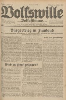 Volkswille : zugleich Volksstimme für Bielitz : Organ der Deutschen Sozialistischen Arbeitspartei in Polen. Jg.18, Nr. 50 (2 März 1932) + dod.
