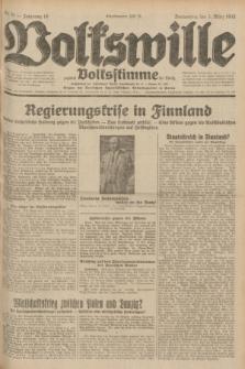Volkswille : zugleich Volksstimme für Bielitz : Organ der Deutschen Sozialistischen Arbeitspartei in Polen. Jg.18, Nr. 51 (3 März 1932) + dod.