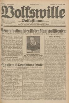 Volkswille : zugleich Volksstimme für Bielitz : Organ der Deutschen Sozialistischen Arbeitspartei in Polen. Jg.18, Nr. 54 (6 März 1932) + dod.