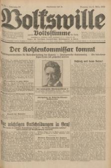Volkswille : zugleich Volksstimme für Bielitz : Organ der Deutschen Sozialistischen Arbeitspartei in Polen. Jg.18, Nr. 55 (8 März 1932) + dod.
