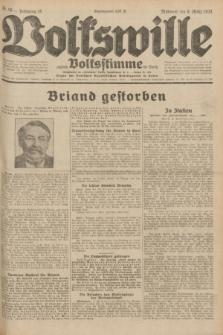 Volkswille : zugleich Volksstimme für Bielitz : Organ der Deutschen Sozialistischen Arbeitspartei in Polen. Jg.18, Nr. 56 (9 März 1932) + dod.