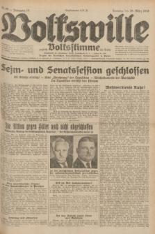 Volkswille : zugleich Volksstimme für Bielitz : Organ der Deutschen Sozialistischen Arbeitspartei in Polen. Jg.18, Nr. 66 (20 März 1932) + dod.