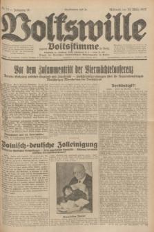 Volkswille : zugleich Volksstimme für Bielitz : Organ der Deutschen Sozialistischen Arbeitspartei in Polen. Jg.18, Nr. 73 (30 März 1932) + dod.