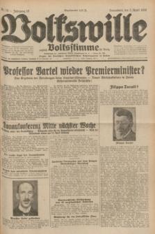 Volkswille : zugleich Volksstimme für Bielitz : Organ der Deutschen Sozialistischen Arbeitspartei in Polen. Jg.18, Nr. 76 (2 April 1932) + dod.
