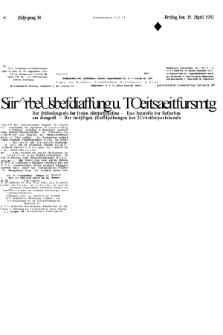 Volkswille : zugleich Volksstimme für Bielitz : Organ der Deutschen Sozialistischen Arbeitspartei in Polen. Jg.18, Nr. 87 (15 April 1932) + dod.