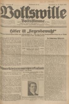 Volkswille : zugleich Volksstimme für Bielitz : Organ der Deutschen Sozialistischen Arbeitspartei in Polen. Jg.18, Nr. 88 (16 April 1932) + dod.