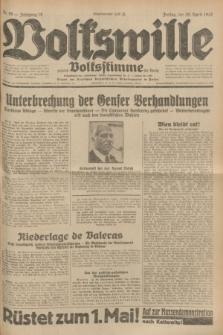 Volkswille : zugleich Volksstimme für Bielitz : Organ der Deutschen Sozialistischen Arbeitspartei in Polen. Jg.18, Nr. 99 (29 April 1932) + dod.