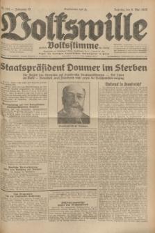 Volkswille : zugleich Volksstimme für Bielitz : Organ der Deutschen Sozialistischen Arbeitspartei in Polen. Jg.18, Nr. 105 (8 Mai 1932) + dod.