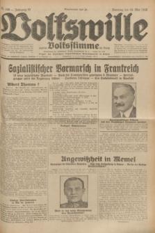 Volkswille : zugleich Volksstimme für Bielitz : Organ der Deutschen Sozialistischen Arbeitspartei in Polen. Jg.18, Nr. 106 (10 Mai 1932) + dod.