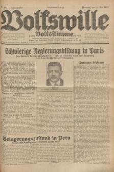 Volkswille : zugleich Volksstimme für Bielitz : Organ der Deutschen Sozialistischen Arbeitspartei in Polen. Jg.18, Nr. 107 (11 Mai 1932) + dod.