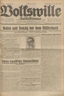 Volkswille : zugleich Volksstimme für Bielitz : Organ der Deutschen Sozialistischen Arbeitspartei in Polen. Jg.18, Nr. 108 (12 Mai 1932) + dod.