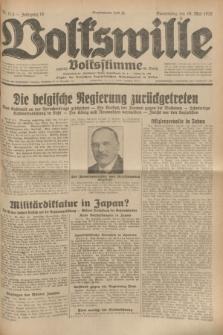 Volkswille : zugleich Volksstimme für Bielitz : Organ der Deutschen Sozialistischen Arbeitspartei in Polen. Jg.18, Nr. 113 (19 Mai 1932) + dod.