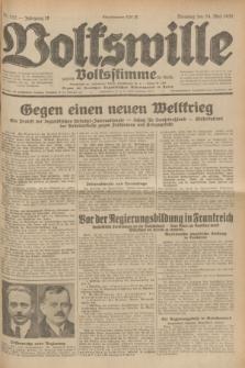 Volkswille : zugleich Volksstimme für Bielitz : Organ der Deutschen Sozialistischen Arbeitspartei in Polen. Jg.18, Nr. 117 (24 Mai 1932) + dod.