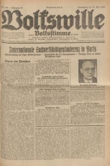 Volkswille : zugleich Volksstimme für Bielitz : Organ der Deutschen Sozialistischen Arbeitspartei in Polen. Jg.18, Nr. 120 (28 Mai 1932) + dod.