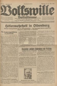 Volkswille : zugleich Volksstimme für Bielitz : Organ der Deutschen Sozialistischen Arbeitspartei in Polen. Jg.18, Nr. 122 (31 Mai 1932) + dod.