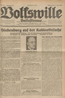 Volkswille : zugleich Volksstimme für Bielitz : Organ der Deutschen Sozialistischen Arbeitspartei in Polen. Jg.18, Nr. 123 (1 Juni 1932) + dod.