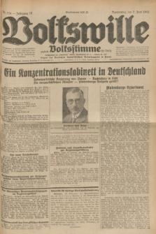 Volkswille : zugleich Volksstimme für Bielitz : Organ der Deutschen Sozialistischen Arbeitspartei in Polen. Jg.18, Nr. 124 (2 Juni 1932) + dod.