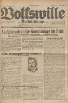 Volkswille : zugleich Volksstimme für Bielitz : Organ der Deutschen Sozialistischen Arbeitspartei in Polen. Jg.18, Nr. 125 (3 Juni 1932) + dod.