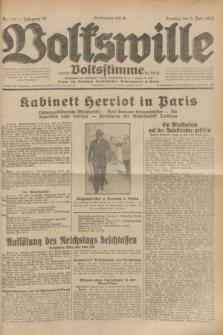 Volkswille : zugleich Volksstimme für Bielitz : Organ der Deutschen Sozialistischen Arbeitspartei in Polen. Jg.18, Nr. 127 (5 Juni 1932) + dod.