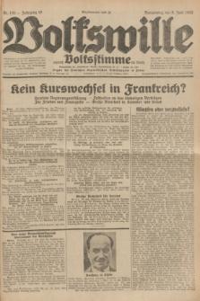 Volkswille : zugleich Volksstimme für Bielitz : Organ der Deutschen Sozialistischen Arbeitspartei in Polen. Jg.18, Nr. 130 (9 Juni 1932) + dod.