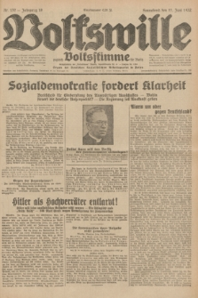 Volkswille : zugleich Volksstimme für Bielitz : Organ der Deutschen Sozialistischen Arbeitspartei in Polen. Jg.18, Nr. 132 (11 Juni 1932) + dod.