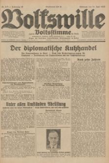 Volkswille : zugleich Volksstimme für Bielitz : Organ der Deutschen Sozialistischen Arbeitspartei in Polen. Jg.18, Nr. 135 (15 Juni 1932) + dod.