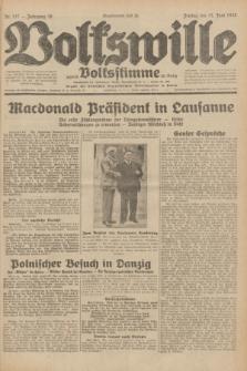 Volkswille : zugleich Volksstimme für Bielitz : Organ der Deutschen Sozialistischen Arbeitspartei in Polen. Jg.18, Nr. 137 (17 Juni 1932) + dod.