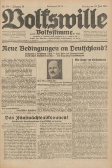 Volkswille : zugleich Volksstimme für Bielitz : Organ der Deutschen Sozialistischen Arbeitspartei in Polen. Jg.18, Nr. 139 (19 Juni 1932) + dod.