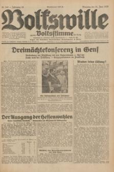 Volkswille : zugleich Volksstimme für Bielitz : Organ der Deutschen Sozialistischen Arbeitspartei in Polen. Jg.18, Nr. 140 (21 Juni 1932) + dod.