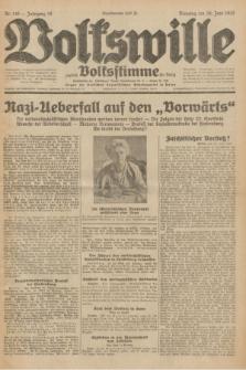 Volkswille : zugleich Volksstimme für Bielitz : Organ der Deutschen Sozialistischen Arbeitspartei in Polen. Jg.18, Nr. 146 (28 Juni 1932) + dod.