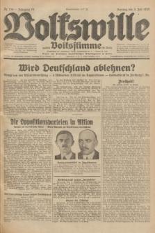Volkswille : zugleich Volksstimme für Bielitz : Organ der Deutschen Sozialistischen Arbeitspartei in Polen. Jg.18, Nr. 150 (3 Juli 1932) + dod.