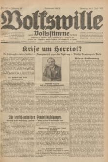 Volkswille : zugleich Volksstimme für Bielitz : Organ der Deutschen Sozialistischen Arbeitspartei in Polen. Jg.18, Nr. 151 (5 Juli 1932) + dod.