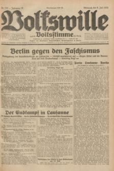 Volkswille : zugleich Volksstimme für Bielitz : Organ der Deutschen Sozialistischen Arbeitspartei in Polen. Jg.18, Nr. 152 (6 Juli 1932) + dod.