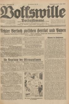 Volkswille : zugleich Volksstimme für Bielitz : Organ der Deutschen Sozialistischen Arbeitspartei in Polen. Jg.18, Nr. 155 (9 Juli 1932) + dod.