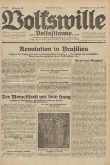 Volkswille : zugleich Volksstimme für Bielitz : Organ der Deutschen Sozialistischen Arbeitspartei in Polen. Jg.18, Nr. 158 (13 Juli 1932) + dod.