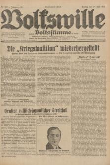 Volkswille : zugleich Volksstimme für Bielitz : Organ der Deutschen Sozialistischen Arbeitspartei in Polen. Jg.18, Nr. 160 (15 Juli 1932) + dod.