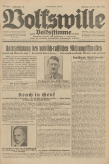Volkswille : zugleich Volksstimme für Bielitz : Organ der Deutschen Sozialistischen Arbeitspartei in Polen. Jg.18, Nr. 168 (24 Juli 1932) + dod.