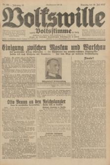 Volkswille : zugleich Volksstimme für Bielitz : Organ der Deutschen Sozialistischen Arbeitspartei in Polen. Jg.18, Nr. 169 (26 Juli 1932) + dod.