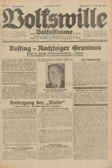 Volkswille : zugleich Volksstimme für Bielitz : Organ der Deutschen Sozialistischen Arbeitspartei in Polen. Jg.18, Nr. 171 (28 Juli 1932) + dod.