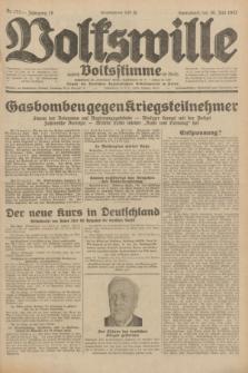 Volkswille : zugleich Volksstimme für Bielitz : Organ der Deutschen Sozialistischen Arbeitspartei in Polen. Jg.18, Nr. 173 (30 Juli 1932) + dod.